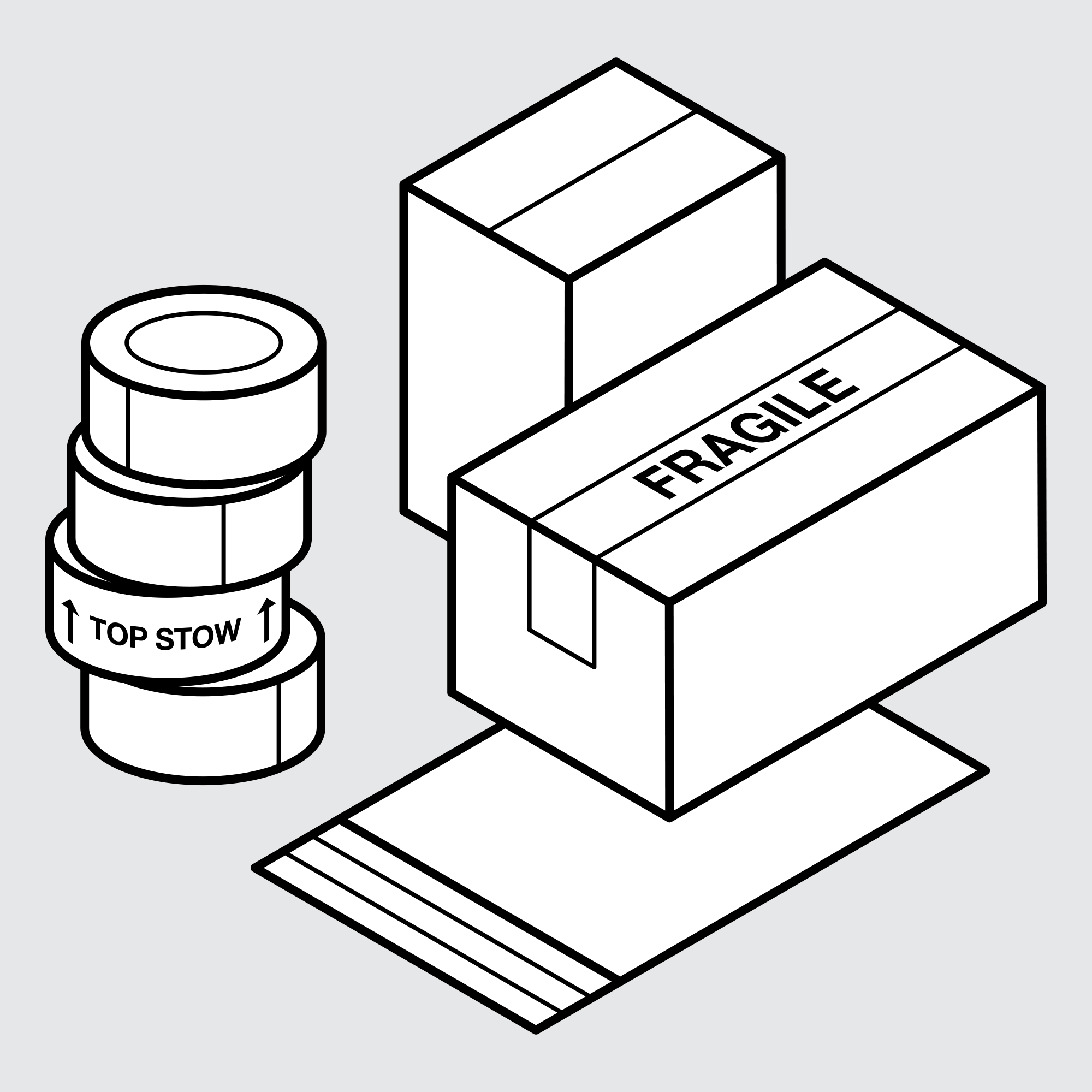 Drawing of Samples for Wholesale Product Packaging